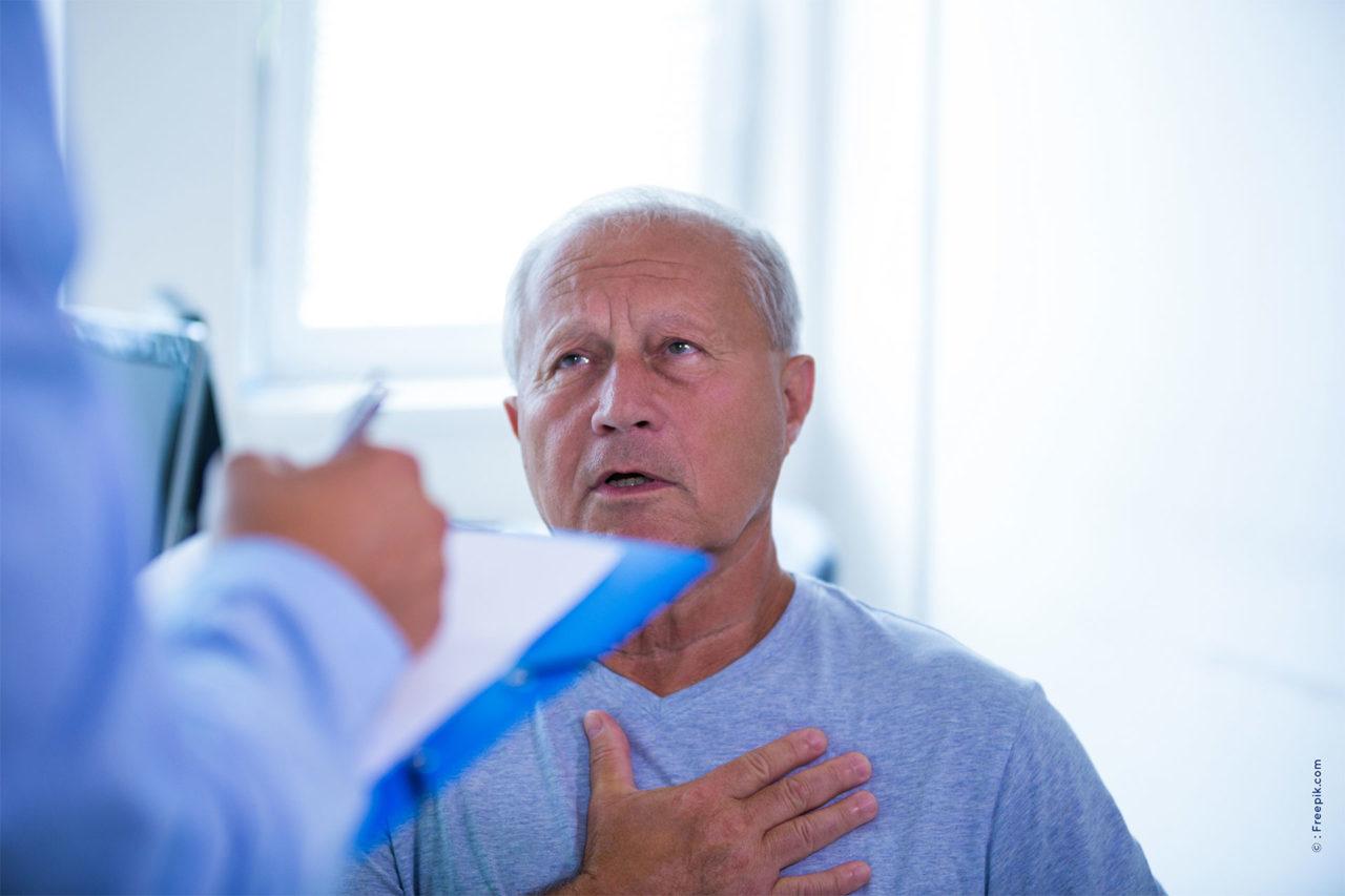 Patient avec médecin